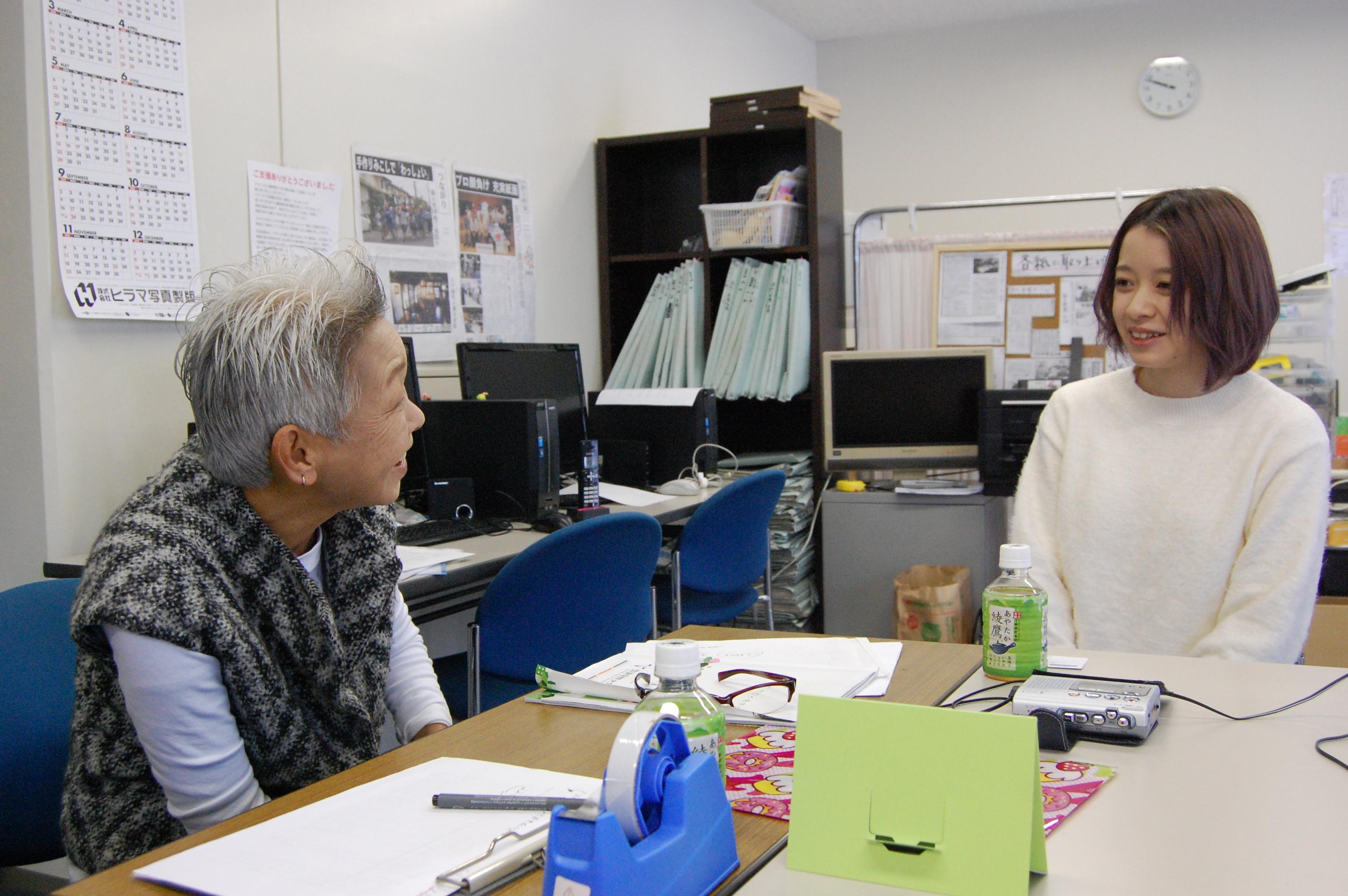 「OCPを通じて見えたこと」筑波学院大の学生インタビュー、スタート
