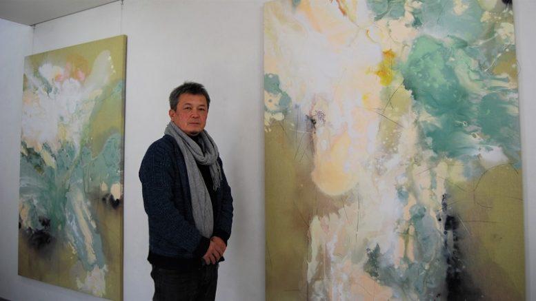 画家と彫刻家「二人展」開幕 牛久のギャラリー – NEWSつくば