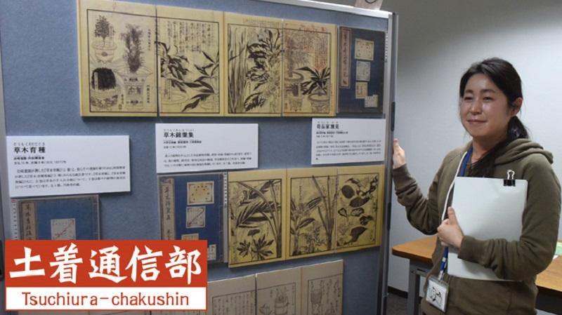 《土着通信部》11 花開くお江戸のボタニカルアート