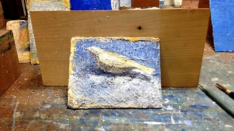 《続・平熱日記》12 小鳥を彫りながら「削るべきは…」