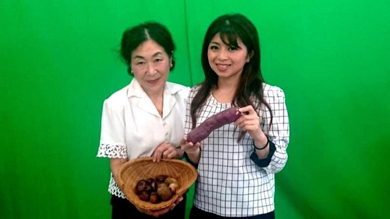 秋の食材を紹介 料理研究家の吉田礼子さん