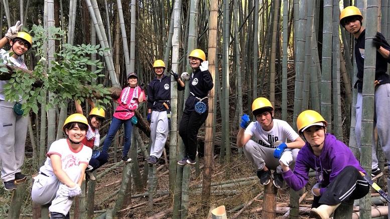 《宍塚の里山》26 16年続く 大学生の「キャンエコ」活動