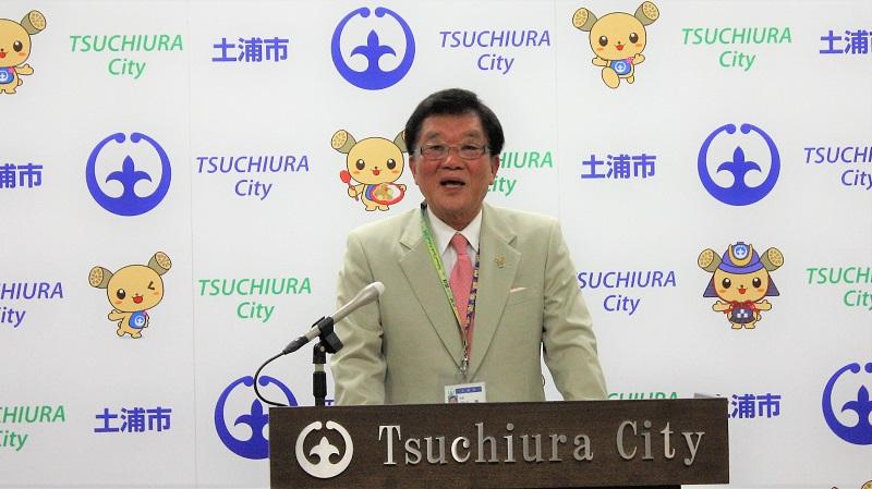 【土浦市長会見】4月1日 市職員に自転車通勤を推奨 4月から奨励週間導入