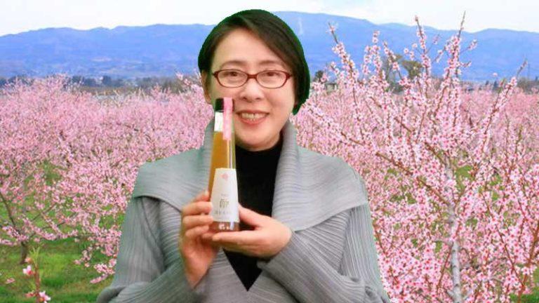 ふるさとを支援したい 土浦の鶴町さん、福島の桃で「福ももの酢」