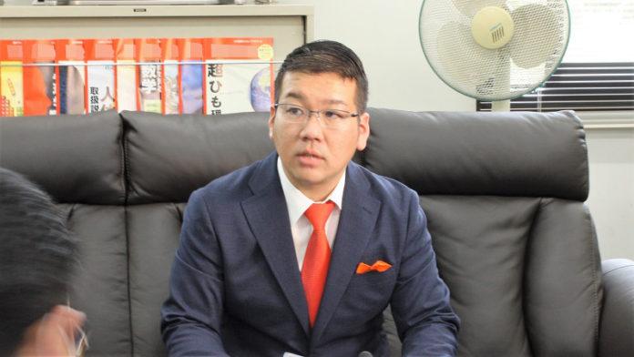 会社経営の富島純一氏が出馬表明 つくば市長選、一騎打ちに