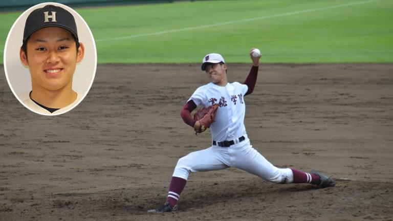 常総学院出の鈴木投手(法大)ロッテ1位指名 プロ野球ドラフト会議