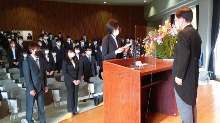 「混迷する世に立ち向かえる力付けて」 筑波学院大学で入学式
